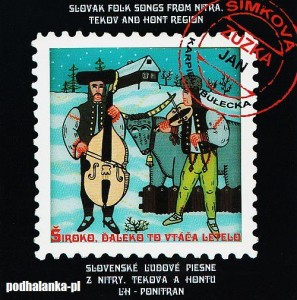 Slovak Folk Songs from Nitra, Tekov and Hont Region