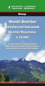 Bistrita Mountains - Mapa Dimap